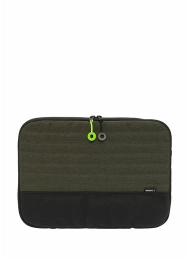Mueslii Laptop /Evrak Çantası Yeşil